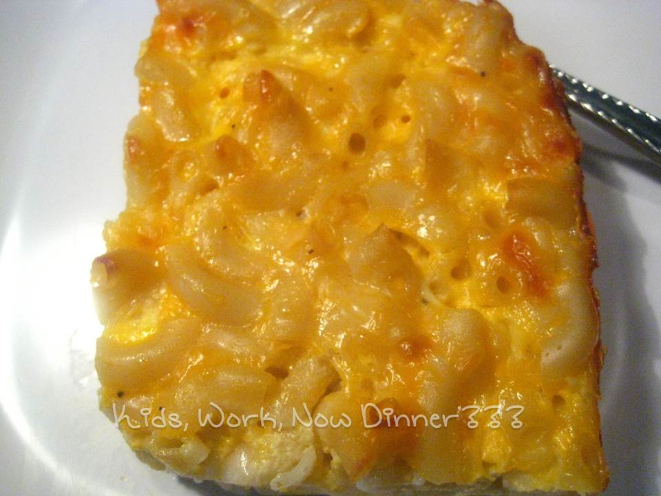 Baked Kraft Deluxe Macaroni & Cheese | Kids, Work, Now Dinner ???