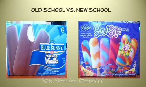 Ice Cream Wars: Old School vs. New School