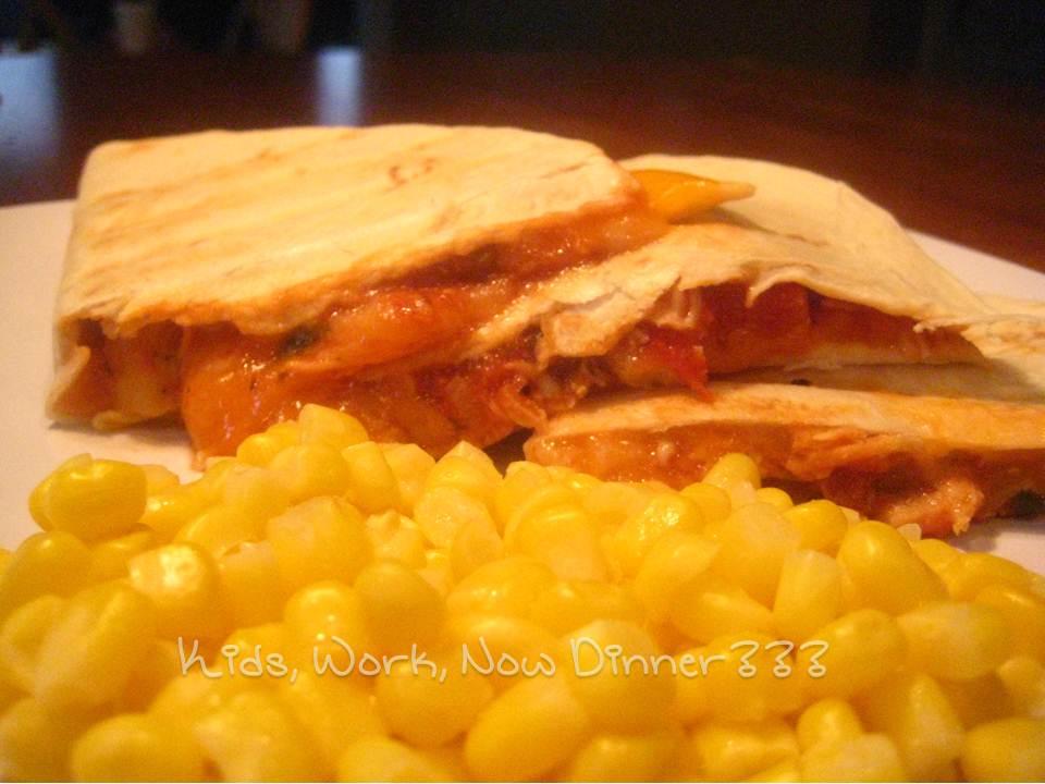 Grilled Cheese Quesadillas Recipe — Dishmaps